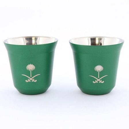 ROVATTI - Rovatti Pola 85ml Green Ksa Stainless Steel Cup