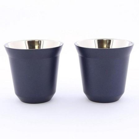 ROVATTI - Rovatti Pola 85ml Dark Blue Stainless Steel Cup