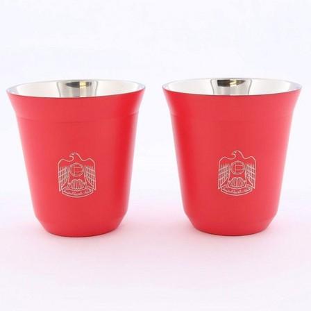 ROVATTI - Rovatti Pola 175ml Red UAE Stainless Steel Cup