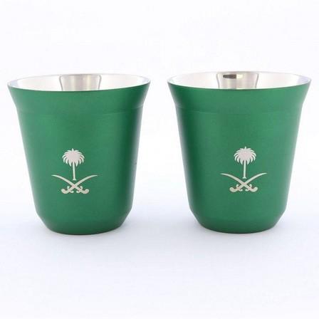 ROVATTI - Rovatti Pola 175ml Green Ksa Stainless Steel Cup