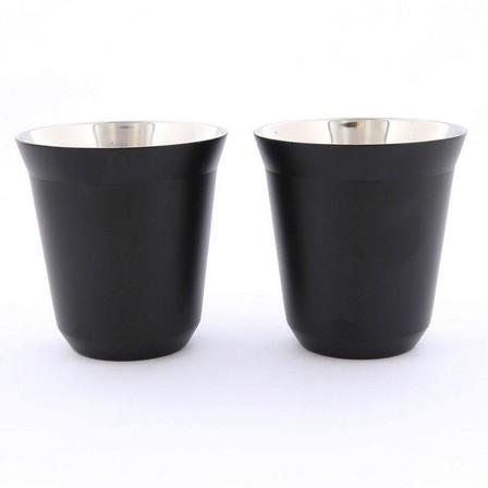 ROVATTI - Rovatti Pola 175ml Black Stainless Steel Cup