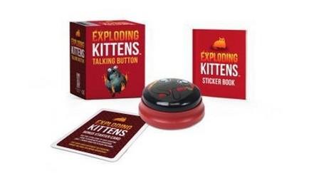 RUNNING PRESS - Exploding Kittens Talking Button