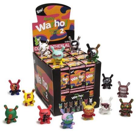 KIDROBOT - Kidrobot Andy Warhol Dunny Mini Series 2.0 3 Inch Blind Box [Includes 1]