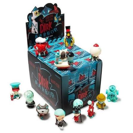 KIDROBOT - Kidrobot Dark Harbor Mini Figure Series By Kathie Olivas & Brandt Peters Blind Box [Includes 1]