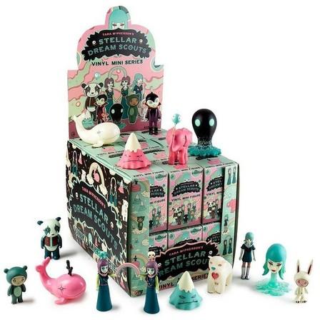 KIDROBOT - Kidrobot Stellar Dream Scouts Mini Art Figure Series By Tara Mcpherson Blind Box [Includes 1]