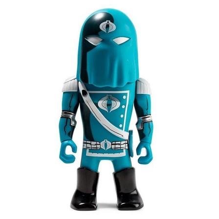 KIDROBOT - Kidrobot Transformers Vs G.I. Joe - Cobra Commander Medium Figure By Tom Scioli