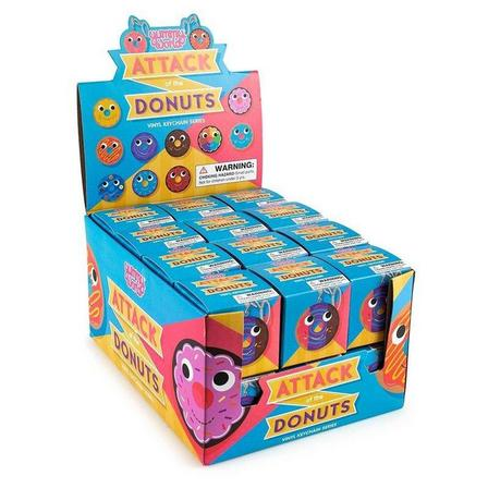 KIDROBOT - Kidrobot Yummy World Attack Of The Donuts Keychain Series Blind Box [Includes 1]