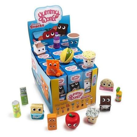 KIDROBOT - Kidrobot Yummy World Gourmet Snacks Vinyl Mini Series Blind Box [Includes 1]