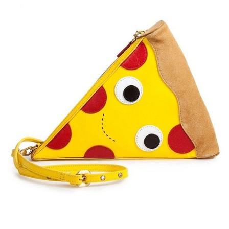 KIDROBOT - Kidrobot Yummy World Leather Pizza Clutch Purse Bag