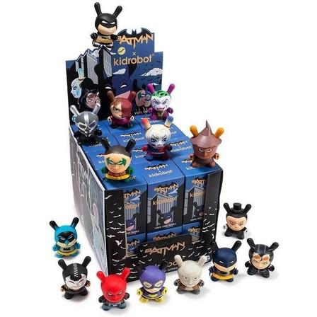 KIDROBOT - Kidrobot Batman X Dunny Figure Blind Box 3 Inch [Includes 1]
