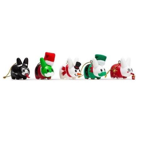KIDROBOT - Kidrobot Happy Labbit Christmas Tree Ornaments [5 Pack]