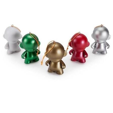 KIDROBOT - Kidrobot Munnyworld DIY Ornaments Figure 2.5 Inch [Pack of 5]