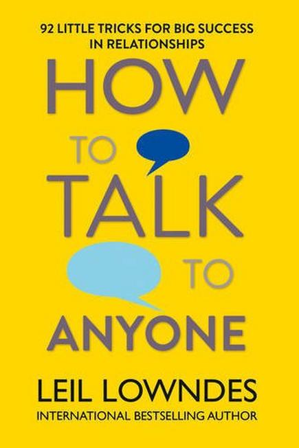 HARPER COLLINS UK - How To Talk To Anyone