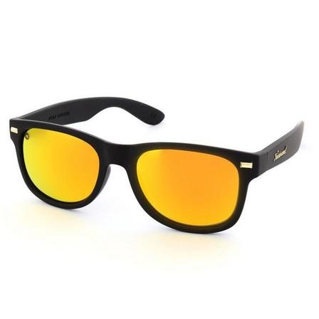 KNOCKAROUND - Knockaround Matte Black/Polarized Sunset Fort Knocks Unisex Sunglasses