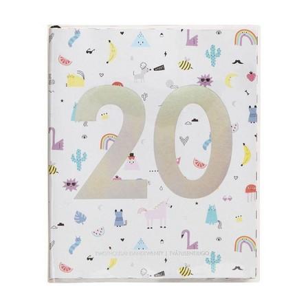 KIKKI.K - kikki.K 2020 Cute Weekly Diary Large Be Kind White