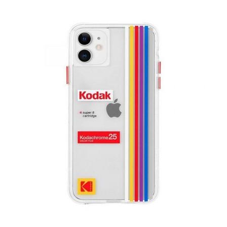 CASE-MATE - Case-Mate Kodak Case Striped Kodachrome Super 8 for iPhone 11