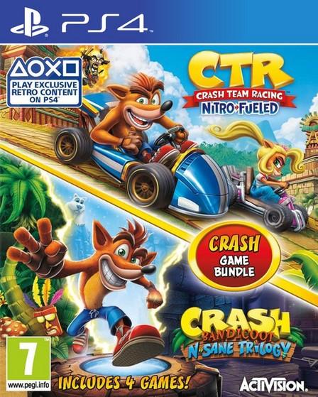 ACTIVISION - Crash Team Racing Nitro-Fueled + Crash Bandicoot N. Sane Trilogy - PS4