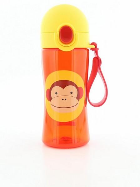 SKIP HOP - Skip Hop Zoo Sport Kids Water Bottle Monkey 410ml