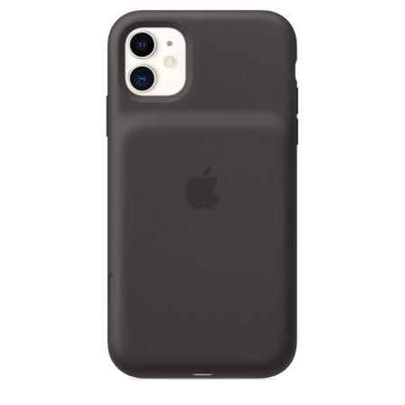 APPLE - Apple Smart Battery Case with Wireless Charging Black for iPhone 11