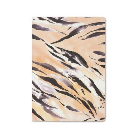 GO STATIONERY - Nikki Strange Wild Life Tiger/Cheetah A5 Notebook [Set of 2]