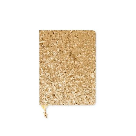 GO STATIONERY - All That Glitters WTV Undated Sequin Gold A6 Diary