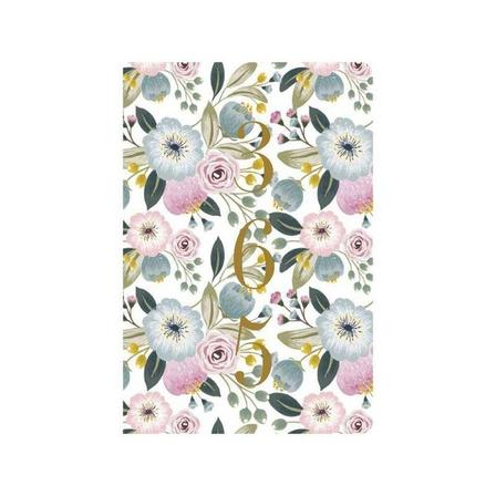GO STATIONERY - Classic Diaries WTV Full Year Diary Floral Bouquet A5 2020