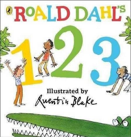 PENGUIN BOOKS UK - Roald Dahl's 123 (Counting Board Book)