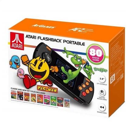 ATGAMES DIGITAL MEDIA - Atari Flashback Portable with 80 Built-in Games