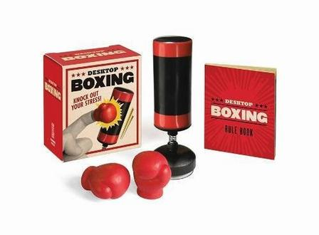 RUNNING PRESS USA - Desktop Boxing Knock Out Your Stress!