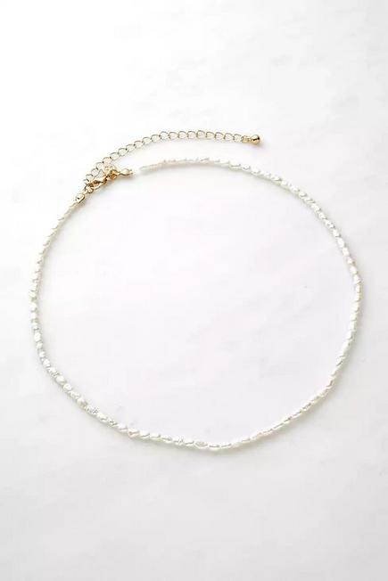 Urban Outfitters - Pearl Real Freshwater Necklace, Women