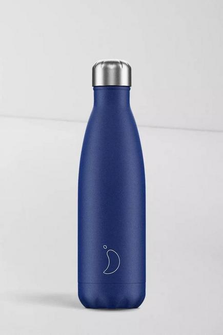 Urban Outfitters - Navy Chilly's 500Ml Stainless Steel Water Bottle