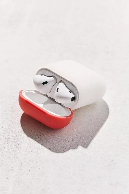Urban Outfitters - White Elago Airpods Silicone duo Case