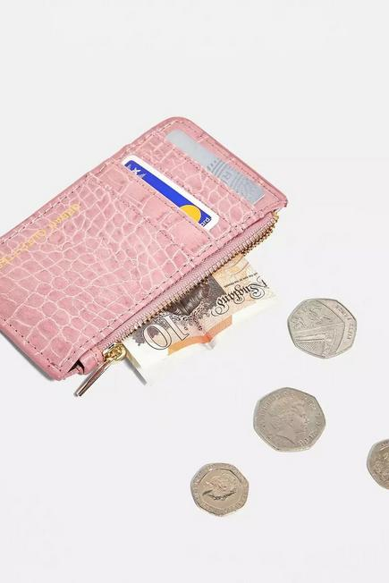 Urban Outfitters - RASP UO Faux Leather Cardholder Wallet