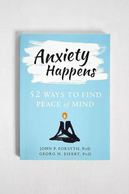 Urban Outfitters - Assorted Anxiety Happens: 52 Ways To Move Beyond Fear And Find Peace