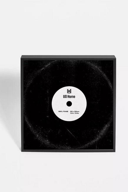Urban Outfitters - Black Aluminum Square Album Frame
