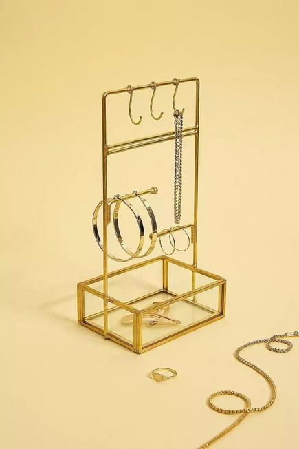 Urban Outfitters - Gold Small Jewellery Stand