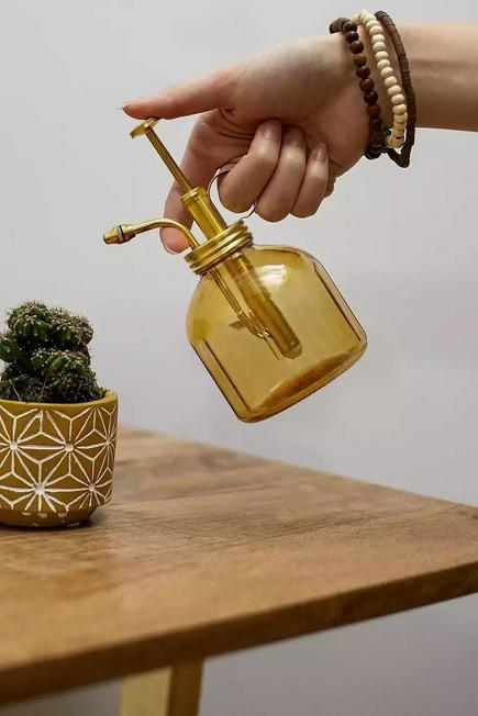 Urban Outfitters - Amber Glass Plant Mister