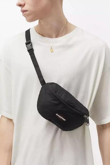 Urban Outfitters - Black Eastpak springer Instant Black Bum Bag, Men