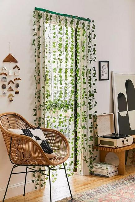 Urban Outfitters - Green Vine Curtain