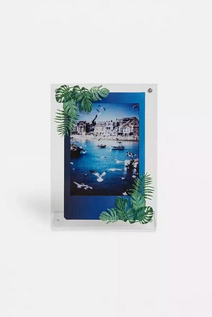 Urban Outfitters - Assorted Jungle Leaves Instax Mini Picture Frame