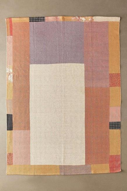 Urban Outfitters - PEACH Monroe Peach Patch Printed 5x7 Rug