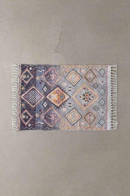 Urban Outfitters - Blue Anisah Chenille 2x3 Rug