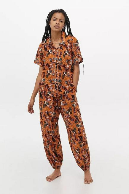 Urban Outfitters - Assorted Out From Under Harry Print Boho Trousers, Women