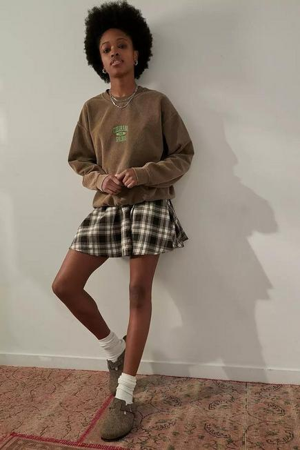 Urban Outfitters - Cocoa UO Colorado Springs Berry Crew Neck Sweatshirt, Women