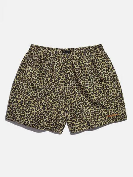Urban Outfitters - Assorted iets frans... Leopard Print Swim Shorts, Men