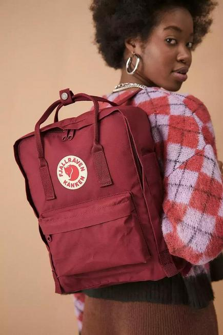 Urban Outfitters - RED Fjallraven Kanken Ox Red Backpack