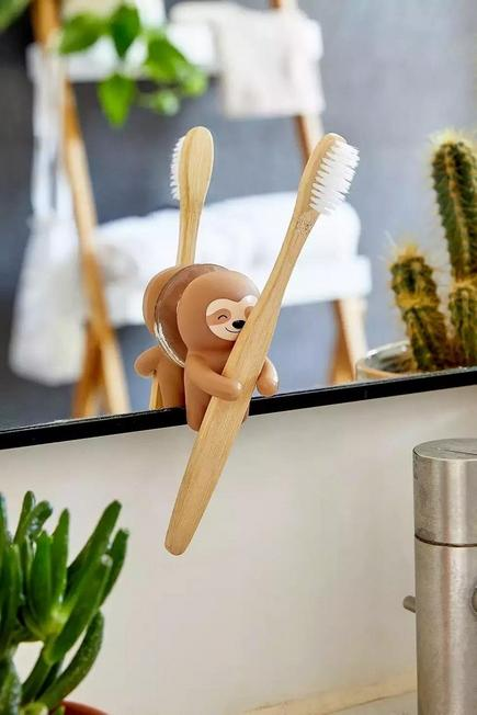 Urban Outfitters - ASSORT Sloth Toothbrush Holder