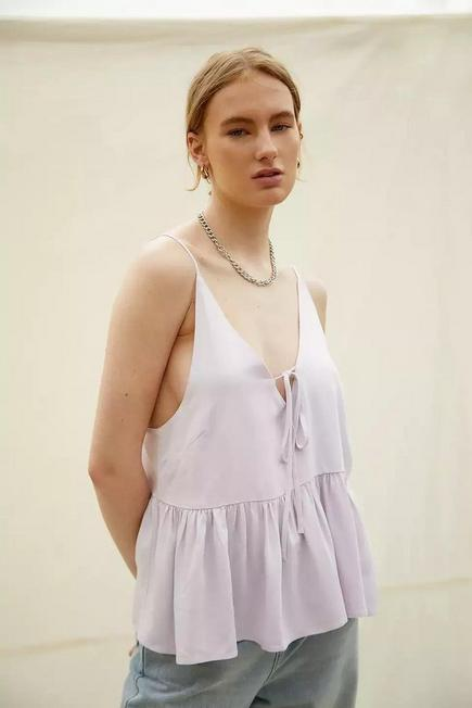 Urban Outfitters - Lilac BCC Dye UO Exclusive Cami Top, Women