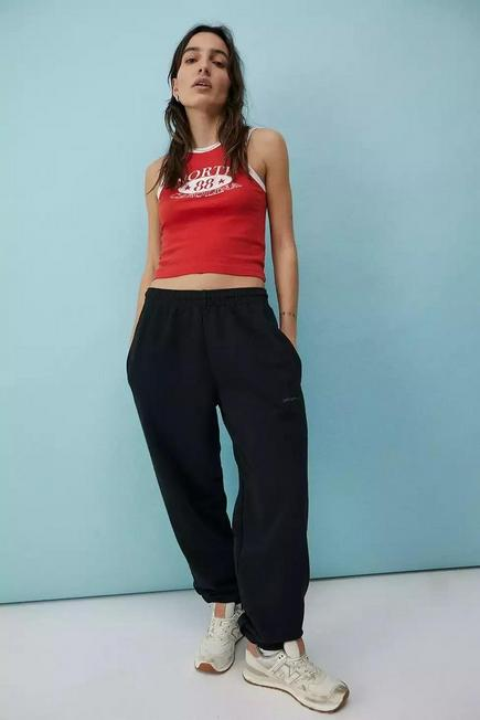 Urban Outfitters - Black iets frans... Joggers, Unisex