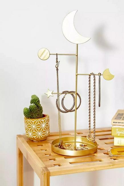 Urban Outfitters - Gold Celestial Jewellery Stand